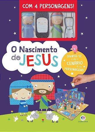 Livro O Nascimento de Jesus Ciranda Cultural
