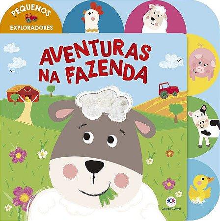 Livro Aventuras na Fazenda Ciranda Cultural