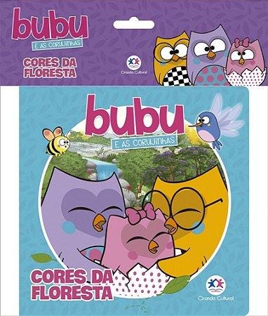 Livro de Colorir Bubu e as Corujinhas - Cores da Floresta Ciranda Cultural