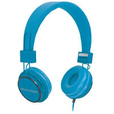 Fone de Ouvido Headphone Fun Azul PH089 Multilaser