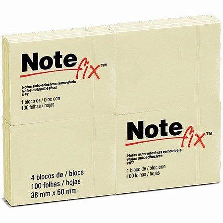 Notefix Tm 38X50Mm Amarelo C/04 3M