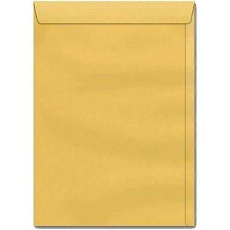 Envelope Saco Ouro 17Cmx25Cm