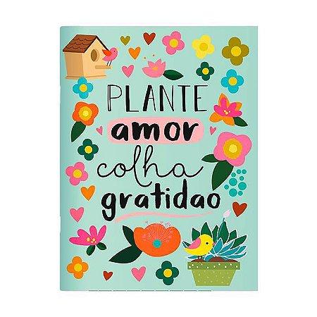 Caderno Pontado 13X18 Cm - Jardim - Raizler + Me Encanta
