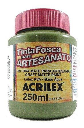 TINTA PVA FOSCA  250ML VERDE OLIVA (545) ACRILEX
