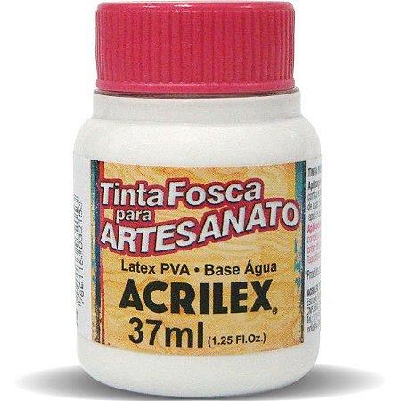 TINTA PVA FOSCA 37ML BRANCO (519) ACRILEX