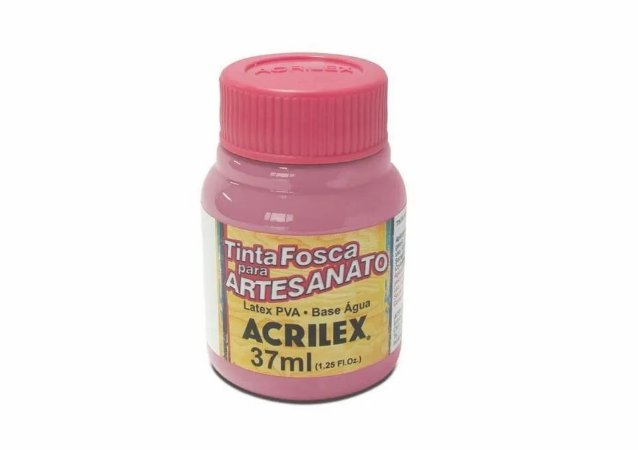 TINTA PVA FOSCA 37ML ROSA CICLAME (581) ACRILEX