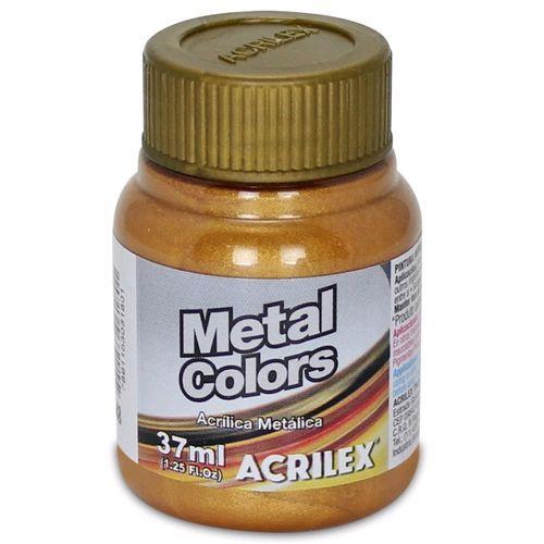 TINTA METAL COLORS 37ML OURO VELHO(548) ACRILEX