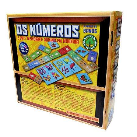 Jogo Os Numeros 2X1 Pais E Filhos