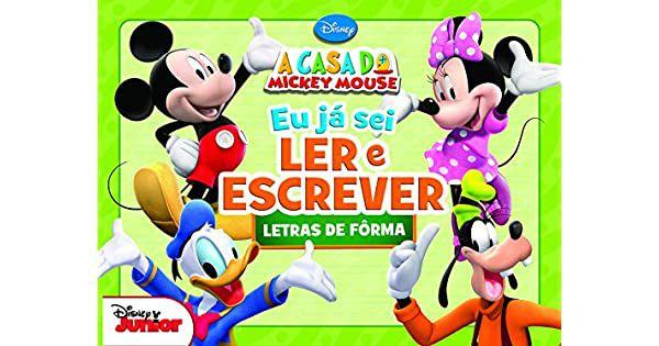 Livro Eu Ja Sei Ler E Escrever Letras De Forma - Disney