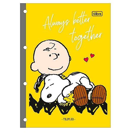 Bloco P/ Fichário Snoopy 80F Tilibra