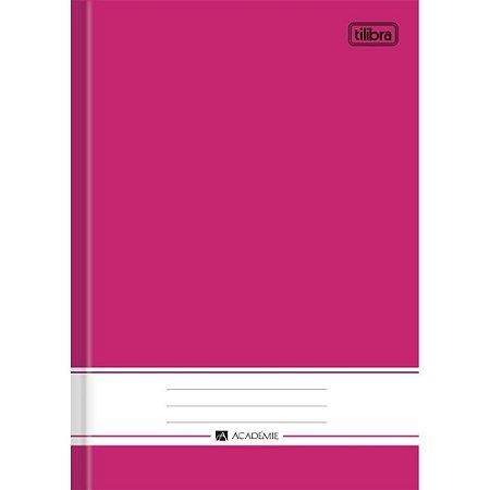 Caderno 1/4 96F Academie Rosa Tilibra