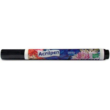 Acrilpen Acrilex 520 Preto