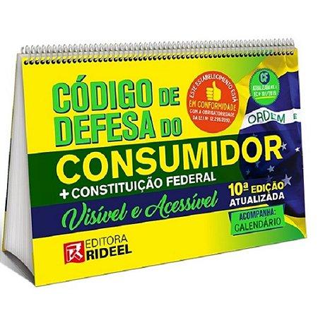 Livro Codigo De Defesa Do Consumidor - Visivel E Acessivel - 10  Edicao