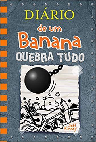 LIVRO DIARIO DE UM BANANA 14: QUEBRA TUDO - Vol. 14