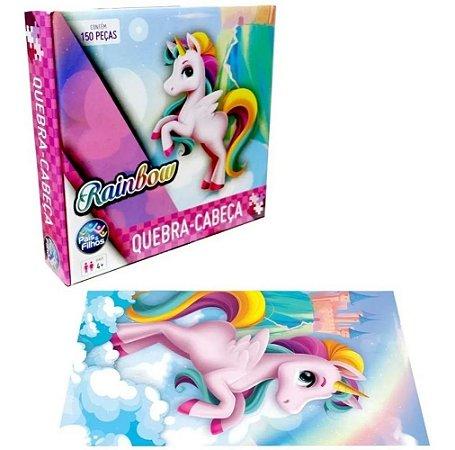 Quebra Cabeça Rainbow 150P Premium Pais&Filhos