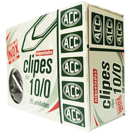 CLIPES 10/0 ACO NIQUELADO C/20 ACC