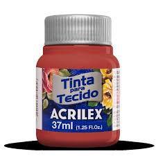 TINTA TECIDO FOSCA 37ML ROSA ANTIGO (828) ACRILEX