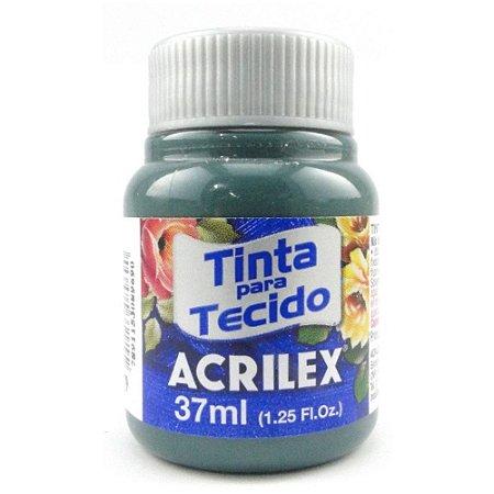 TINTA TECIDO FOSCA 37ML CINZA ONIX  (629) ACRILEX