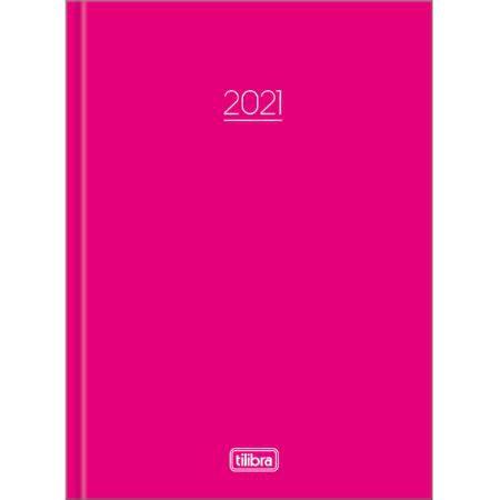 Agenda Costurada Pepper M4 Rosa 2021 Tilibra