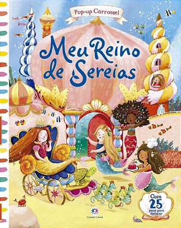 Livro Pop-Up Meu Reino De Sereias Ciranda Cultural