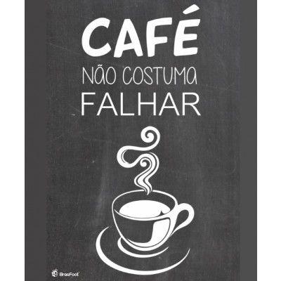 Quadro Decorativo Cartao Papel Mdf - Cafe 2 Sortido Brasfoot