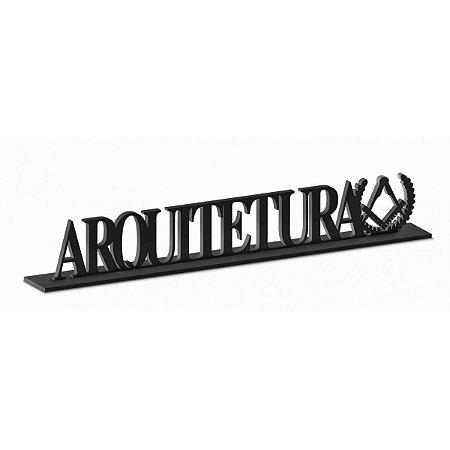 Placa Decorativa Mdf Resinada - Arquitetura - Brasfoot