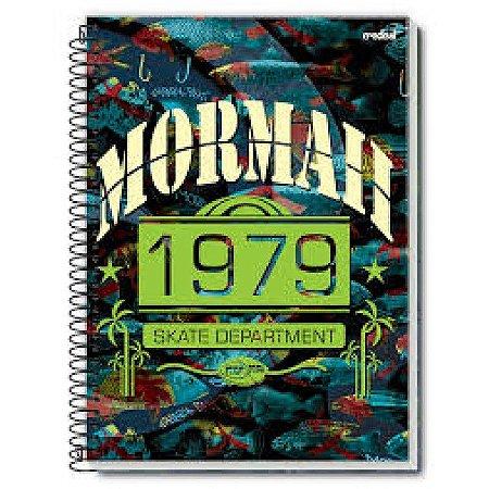 Caderno Universitário Mormai 16 Matérias Capa Sortida Credeal