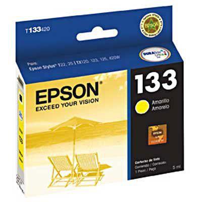 Cartucho De Impressora 133 Amarelo Epson