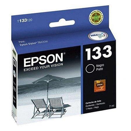 Cartucho De Impressora 133 Preto Epson