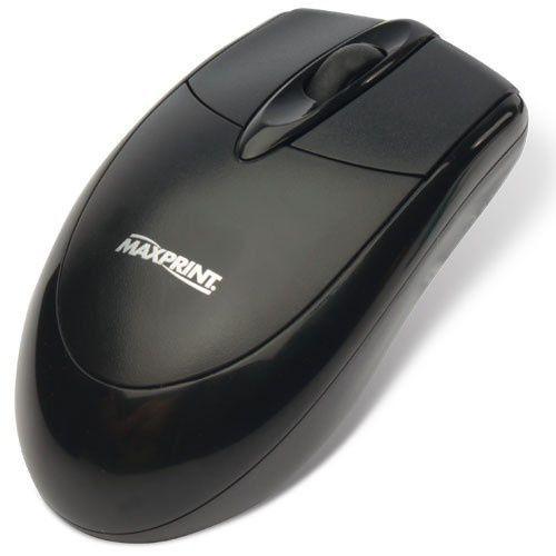 Mouse Óptico Preto Usb 1000Dpi Maxprint