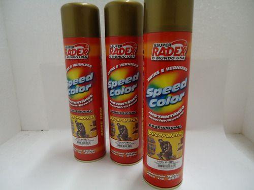 Tinta Spray Speed Color Cor Lisa Ambex