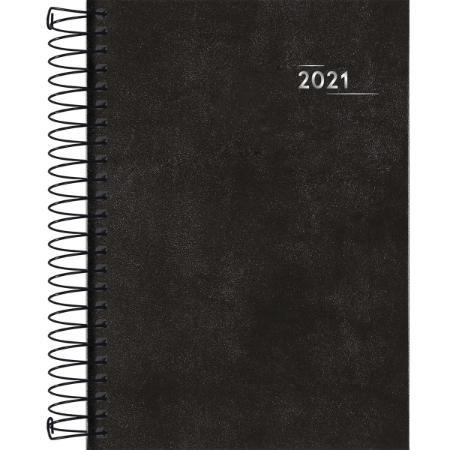 Agenda Espiral Napoli M5 Preta 2021 Tilibra