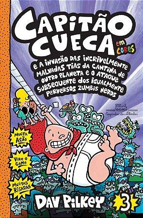 LIVRO CAPITAO CUECA EM CORES - VOL. 3