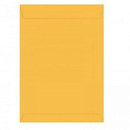 Envelope Saco Ouro 18Cmx25Cm
