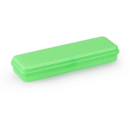Estojo Plastico Plus Verde Waleu