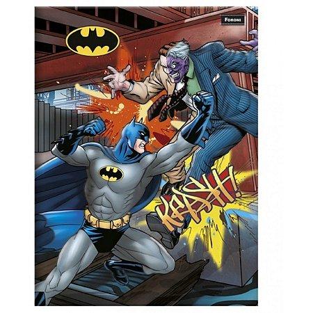 Caderno Brochura Universitario 48F Batman Capa Sortida Foroni