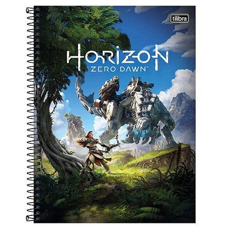 Caderno Universitário 1 Matéria 80F Horizon Zero Dawn Capa Sortida Tilibra
