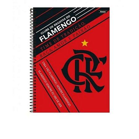 Caderno Universitário 1 Matéria 96F Flamengo Capa Sortida Foroni