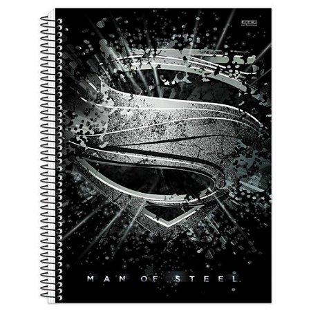 Caderno Universitário 1 Matéria 96F Superman Capa Sortida São Domingos