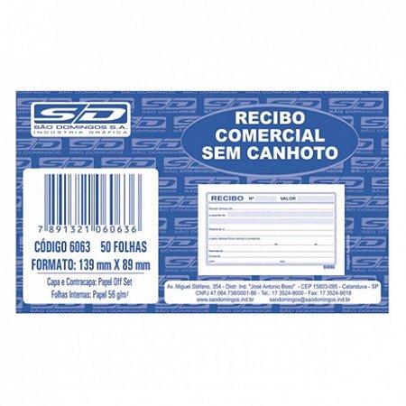 Recibo Comercial Sem Canhoto 50F São Domingos
