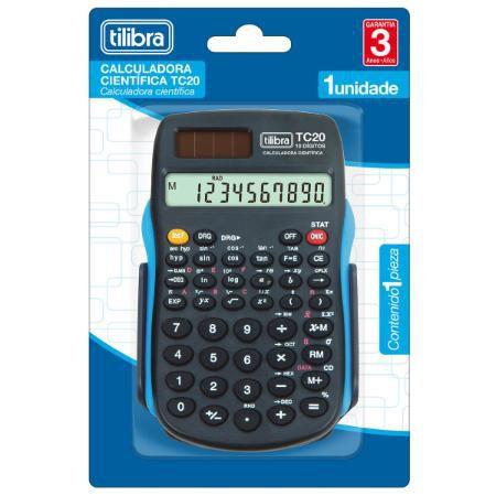 Calculadora Científica Preta Tc20 Tilibra