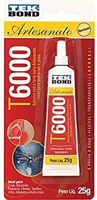 Cola Para Artesanato T6000 25G Tekbond