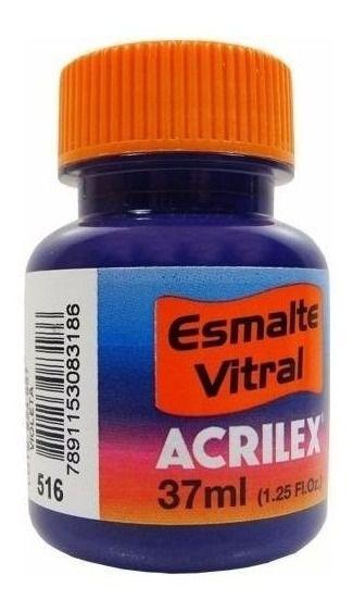 Esmalte Vitral 37Ml Violeta (516) Acrilex