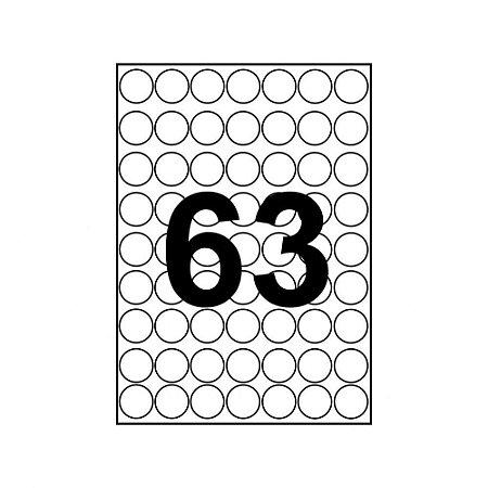 Etiqueta A5R1919 Branca 117 Etq Pimaco