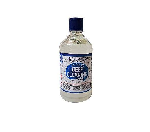 Alcool Gel 70°Antisseptico 500Ml Deep Cleaning