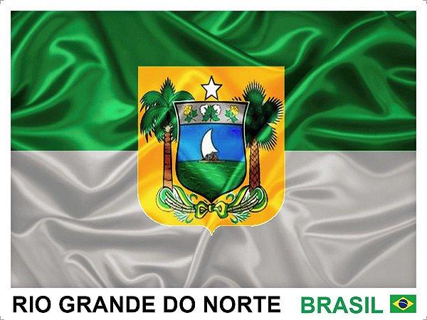 Bandeira Do Rio Grande Do Norte Oficial 90Cmx128Cm