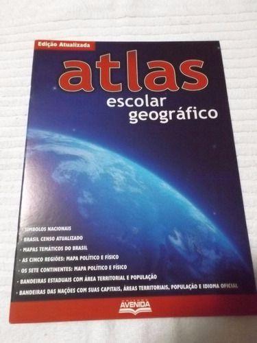Atlas Escolar Geografico Editora Avenida