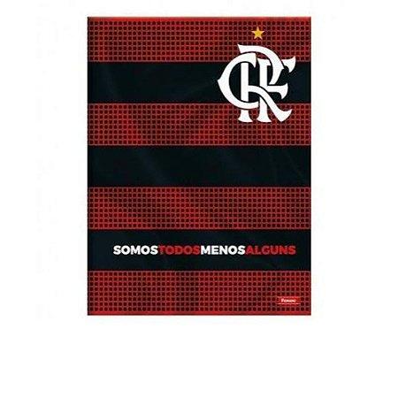Caderno Brochura 1/4 96F Flamengo Capa Sortida Foroni