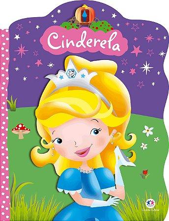 Livro Recortado Com Glitter Cinderela Ciranda Cultural