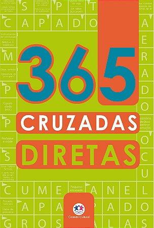 Livro 365 Palavras Cruzadas Diretas Ciranda Cultural
